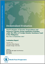 Philippines, Disaster Preparedness and Response/Climate Change Adaptation Activities: An Evaluation