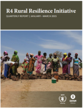 R4 Rural Resilience Initiative: Quarterly report | January - March 2015