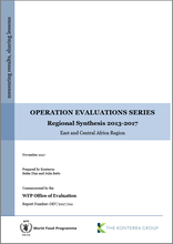 Operation Evaluations Series, Regional Synthesis 2013-2017: East and Central Africa Region