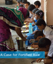 India: Making the Case for Fortified Rice