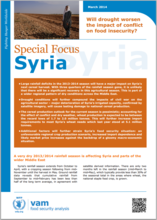 Syria - Special Focus: Will drought worsen the impact of conflict on food insecurity? March 2014