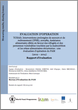 Chad PRRO 200289 Targeted Food Assistance for Refugees and Vulnerable People Affected by Malnutrition and Recurrent Food Crises (2012-2013): An Operation Evaluation