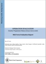 Ghana CP 200247 (2012-2016): A mid-term Operation Evaluation
