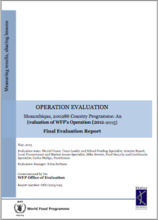Mozambique CP 200286 (2012-2015): A mid-term Operation Evaluation