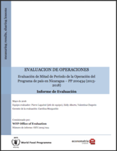 Nicaragua CP 200434 (2013-2018): A mid-term Operation Evaluation