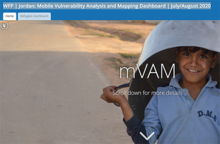WFP Jordan: Mobile Vulnerability Analysis and Mapping Dashboard - July/August 2020