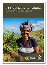 R4 Rural Resilience Initiative Quarterly Report -  January- March 2018
