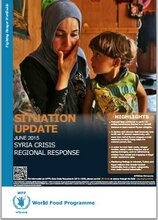 WFP SYRIA REGIONAL SITUATION REPORT, JUNE 2015