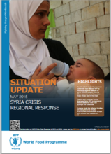 WFP SYRIA SITUATION REPORT, MAY 2015