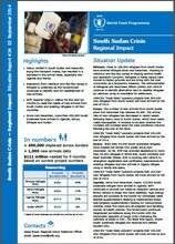 South Sudan Crisis Regional Impact - Situation Report #34, 03 September 2014