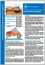 WFP C.A.R. Situation Report #45, 24 October 2014