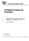 Rapport Complet de l'Evaluation a mi-parcours du Programme de Pays Senegal (1999 - 2001)