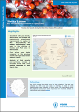 Sierra Leone - mVAM Bulletin #20: Modest improvements in coping in May, May 2015