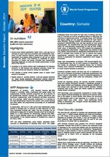 WFP Somalia Situation Report, October 2014