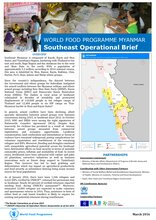 WFP Myanmar: Southeast Operational Brief