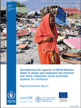 Strengthening the capacity of ASEAN Member States to design and implement risk-informed and shock-responsive social protection systems for resilience