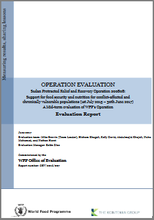 "Sudan PRRO 200808 ""Support for Food Security and Nutrition for Conflict-Affected and Chronically Vulnerable Populations"": A mid-term Operation Evaluation"