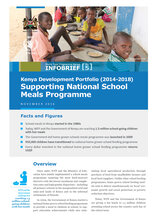 Supporting National School Meals Programme in Kenya