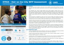 Syrian Arab Republic - Deir-ez-Zor City WFP Assessment, February 2018
