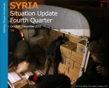 WFP Syria Crisis Response Situation Report, October - December 2015