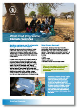 2017 - WFP and Climate Factsheets