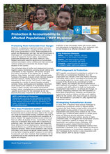 2017 - Protection & Accountability to Affected Populations -  WFP Myanmar