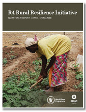 R4 Rural Resilience Initiative: Quarterly Report April-June 2018