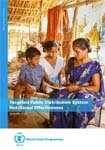 WFP India: Targeted Public Distribution System - Nutritional Effectiveness