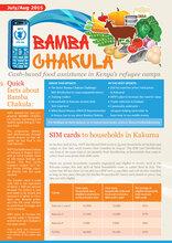 Bamba Chakula - SIM cards to households in Kakuma (July/Aug 2015)