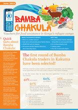 Bamba Chakula - First round of traders in Kakuma selected (June 2015)