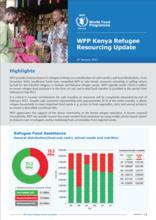 WFP Kenya Refugee  Resourcing Update - 20 January 2017