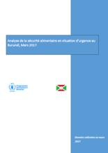 Burundi - Analyse de la sécurité alimentaire en Situation d'Urgence au Burundi, Mars 2017