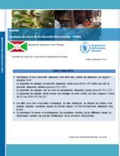 Burundi - Food Security Monitoring System, 2017
