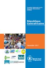 République Centrafricaine - Enquête Nationale de la Sécurité Alimentaire (ENSA), Décembre 2017