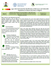 Nigeria - Cadre Harmonisé for Identifying Risk Areas and Vulnerable Populations in Sixteen (16) States of Nigeria, March 2017