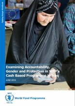 Examining Accountability, Gender and Protection in WFP's Cash Based Programme in Iraq