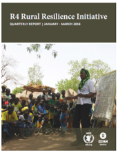 R4 Rural Resilience Initiative: Quarterly Report | January - March 2016