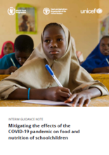 Mitigating the effects of the COVID-19 pandemic on food and nutrition of schoolchildren