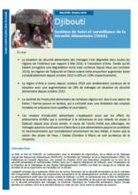 Djibouti - Système de Suivi et surveillance de la Sécurité Alimentaire (SSSA), 2016