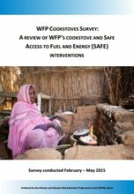 WFP Cookstoves Survey: A Review of WFP's Cookstove and SAFE Initiatives