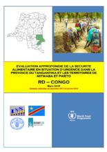 République Démocratique du Congo - Evaluation Approfondie de la Sécurité Alimentaire en Situation d'Urgence dans la Province du Tanganyika et les Terriroires de Mitwava et Pweto, Mars 2018