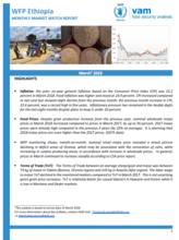 Ethiopia - Monthly Market Watch, 2018