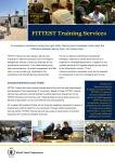 2016 - FITTEST Training Services Factsheet