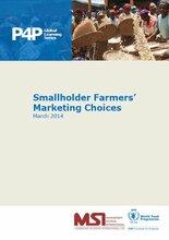 Smallholder Farmers' Marketing Choices
