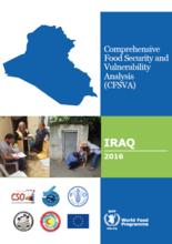 Iraq - Comprehensive Food Security and Vulnerability Analysis (CFSVA), 2016