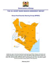 Kenya - Short Rains Season Assessment, February 2017