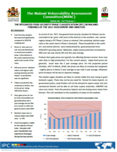 Malawi - MVAC IPC Findings of the 2017 Assessment and Analysis, December 2017