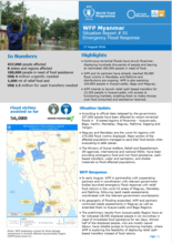 Situation Report - Myanmar