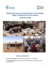 Nigeria - Rapid food security Assessment in Doro Baga, Baga, Kukawa and Cross Kauwa (Kukawa LGA), January 2018