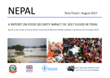 Nepal Terai flood August 2017